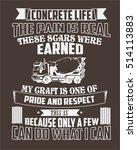 typography  tshirt design ... | Shutterstock .eps vector #514113883