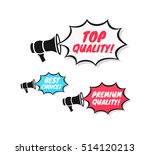 top quality  best choice  ... | Shutterstock .eps vector #514120213