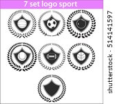 sport logo design illustration... | Shutterstock .eps vector #514141597