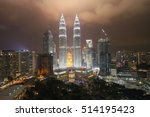 Small photo of KUALA LUMPUR - OCT 27: The Petronas Twin Towers on October 27, 2016, in Kuala Lumpur, Malaysia are the world's tallest twin tower. The skyscraper height is 451.9m