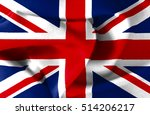 united kingdom  uk flag  three... | Shutterstock . vector #514206217