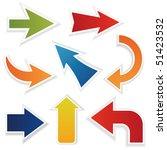 vector arrows | Shutterstock vector #51423532