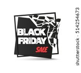 black friday sale. abstract... | Shutterstock .eps vector #514254673
