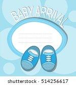 baby arrival | Shutterstock .eps vector #514256617