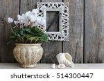 still life with fresh white... | Shutterstock . vector #514300447