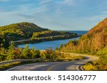 cabot trail highway   cape... | Shutterstock . vector #514306777