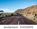 on the road for the teide in... | Shutterstock . vector #514318393