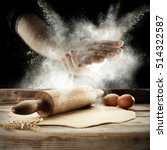 Photo Of Flour And Men Hands...