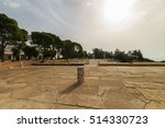 landscape of ancient ruins of... | Shutterstock . vector #514330723