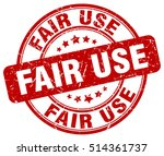 fair use stamp.  red round fair ... | Shutterstock .eps vector #514361737