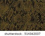 snake skin seamless pattern... | Shutterstock .eps vector #514362037