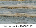wall of the old  gray logs | Shutterstock . vector #514380193