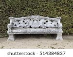 Beautiful Old Stone Bench