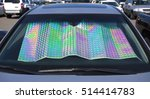 Colorful Car Windshield Shade