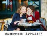 Two Young Girls In Parisian...