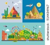 modern flat design conceptual... | Shutterstock .eps vector #514434967