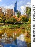 new york city   november 6 ... | Shutterstock . vector #514510537