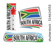 vector logo south africa  3... | Shutterstock .eps vector #514614553