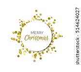 merry christmas design.... | Shutterstock .eps vector #514624027
