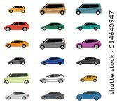 design of cars of different... | Shutterstock .eps vector #514640947