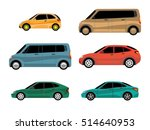 design of cars of different... | Shutterstock .eps vector #514640953