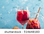 Refreshing Sangria Or Punch...