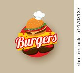 burgers vector illustration | Shutterstock .eps vector #514703137