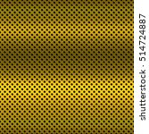 metallic gold hole horizontal...   Shutterstock .eps vector #514724887
