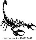 scorpion art | Shutterstock .eps vector #514727647