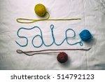 word sale written multicolored...   Shutterstock . vector #514792123