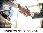 business handshake | Shutterstock . vector #514812787