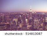 new york city   september 15 ... | Shutterstock . vector #514813087