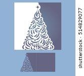 laser cut template for...   Shutterstock .eps vector #514829077