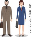 couple of business man and... | Shutterstock .eps vector #514841203