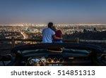 Couple Enjoying Skyline View...