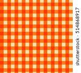 pattern tablecloth orange | Shutterstock .eps vector #514868917