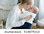 happy family mother and baby...   Shutterstock . vector #514879213