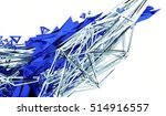 abstract 3d rendering of... | Shutterstock . vector #514916557
