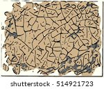brain picture   abstract art... | Shutterstock . vector #514921723