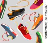vector running  sport and gym... | Shutterstock .eps vector #514959307