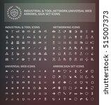 big icon set design clean vector | Shutterstock .eps vector #515007373