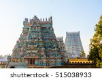 The Gopurams  Temple Towers  A...