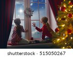 merry christmas and happy... | Shutterstock . vector #515050267