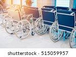 wheelchair hospital corridor   Shutterstock . vector #515059957