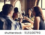 restaurant chilling out classy... | Shutterstock . vector #515100793