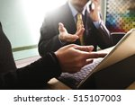 business team present.... | Shutterstock . vector #515107003