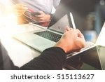business team present. photo...   Shutterstock . vector #515113627