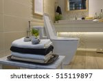 nicely decorated modern... | Shutterstock . vector #515119897