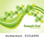 abstract wave background ...   Shutterstock .eps vector #51516940
