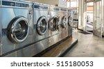 Row Of Washing Machine Of...